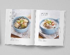 小碗菜加盟招商手册设计-餐饮招商画册设计图片欣赏