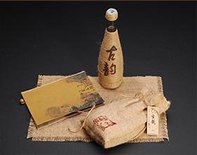 【古韵】独特的酒礼品包装设计图展示,礼盒包装设计方法