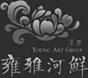 雍雅河鲜vi设计标识图片